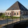 Nieuwbouw van stolpboerderij aan de Vrouweweg in Beemster