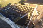 Dakopbouw en dakrenovatie te Hoogkarspel