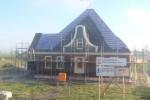 lopend Project: Nieuwbouw stolpboerderij aan het Oudelandsdijkje te Hensbroek.