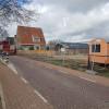 Nieuwbouw dubbele stolpboerderij  te Kwadijk