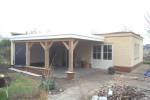 Nieuwbouw tuinhuis/hobbyschuur met veranda te Grootebroek
