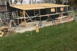 Project : verbouw schuur en nieuwbouw woning met bijgebouw/veranda aan de Groeneweg te Bergen