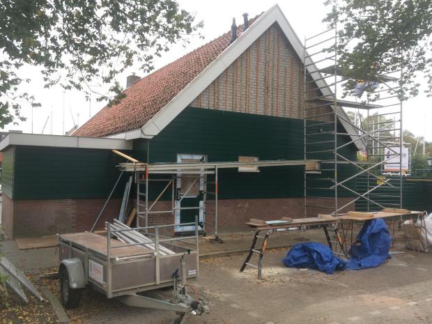 Renovatie watersportvereniging de Karperkuyl  te Hoorn