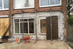 Uitbouw woning aan de Kaag weg te Wervershoof
